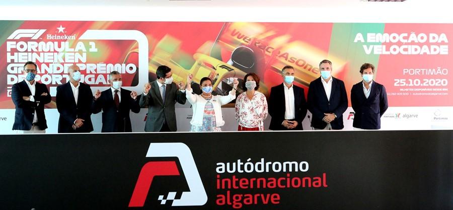 Portimão acolhe regresso da Fórmula 1 a Portugal